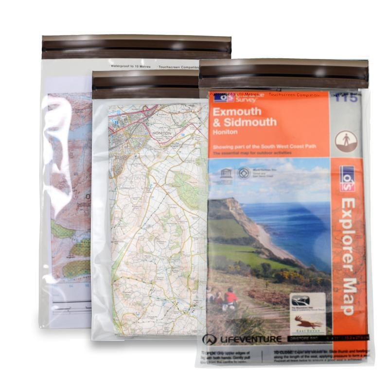 Lifeventure LocTop Dristore Map Bags