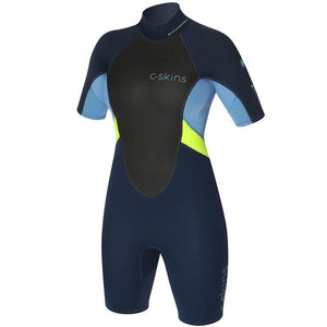 Ladies C-Skins Element Shorty Wetsuit 3/2mm