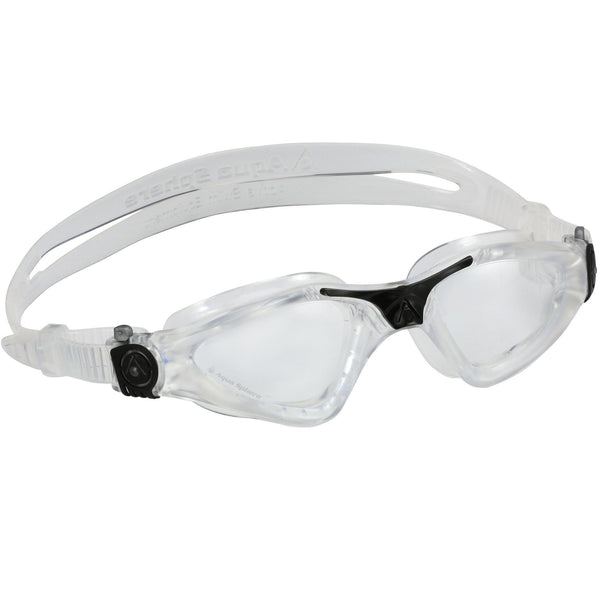 Aqua Sphere Kayenne Swimming Goggles | Clear with Clear Lenses