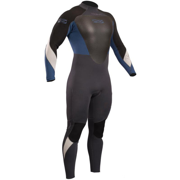 Gul Response Mens 4/3mm Wetsuit | Graphite/Blue