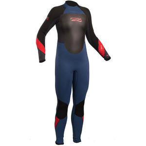 Childrens Gul Response 4/3mm Wetsuit | Blue/Graphite