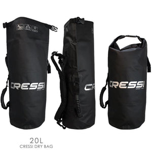 Cressi 10L and 20L Dry Bags