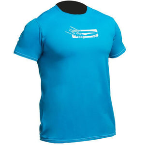 Gul Mens Loose Fit UV50 Rash Guard | Blue