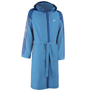 Head Microfibre Bathrobe Kids | Blue