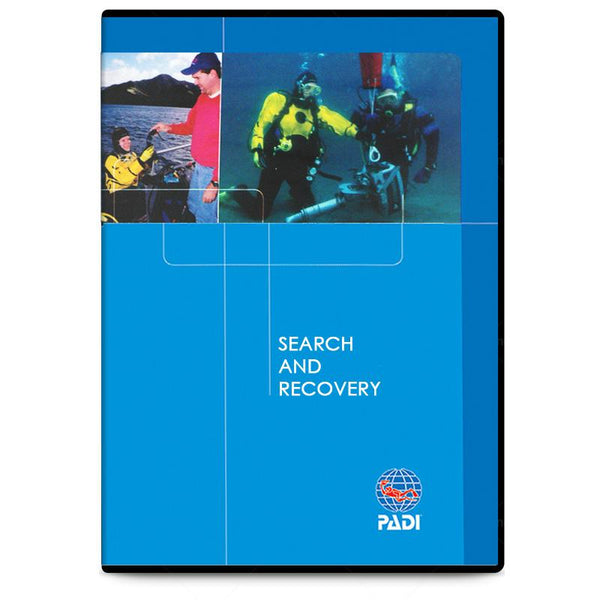 PADI Search and Recovery DVD