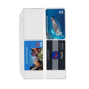 PADI Log Vinyl Card Holder