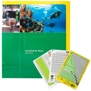 PADI Enriched Air Manual with Dive Tables