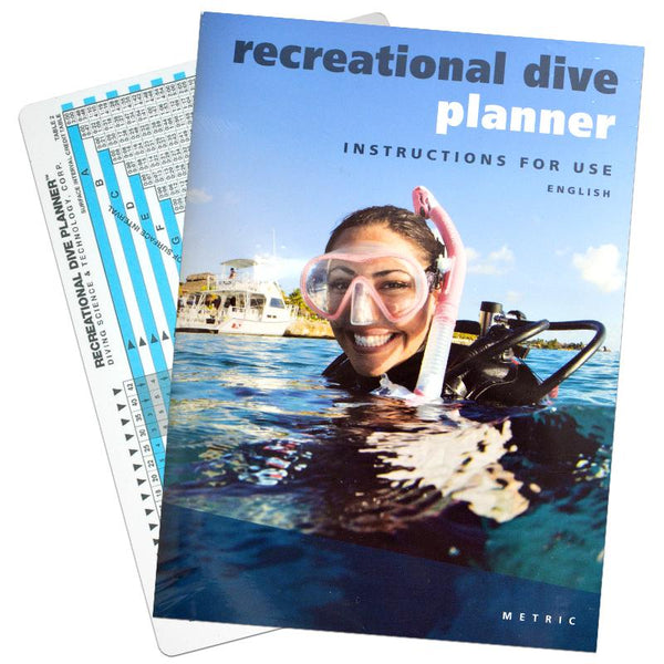 Recreational Dive Planner slate and instruction booklet - UK Shopping