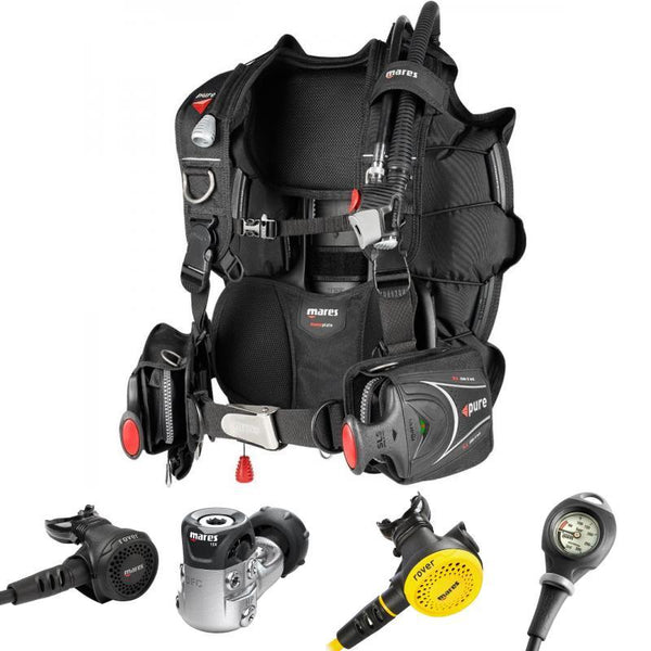 Mares Pure SLS BCD & Mares Rover 15X Regulator Dive Package