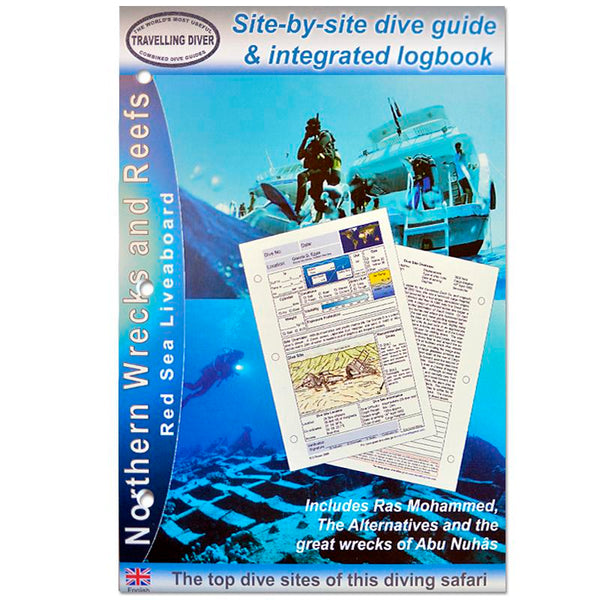 Northern Wrecks and Reefs Red Sea Dive Guide Log Inserts