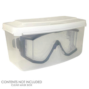 Clear Plastic Diving Mask Box