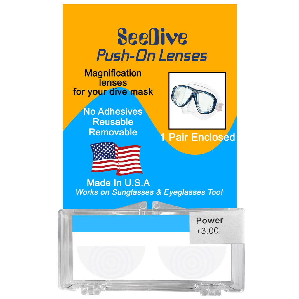 SeeDive Magnification Lenses
