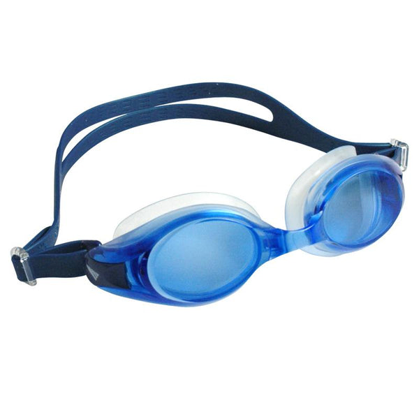 Junior Opticompo Prescription Swim Goggles Self Assembly Kit - Blue