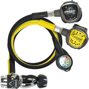 Cressi XS Compact Pro MC9 SC Regulator Set
