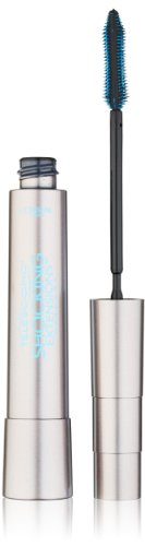 L'Oreal Telescopic Shocking Extensions Waterproof Mascara, Black, 0.24 Fluid Ounce