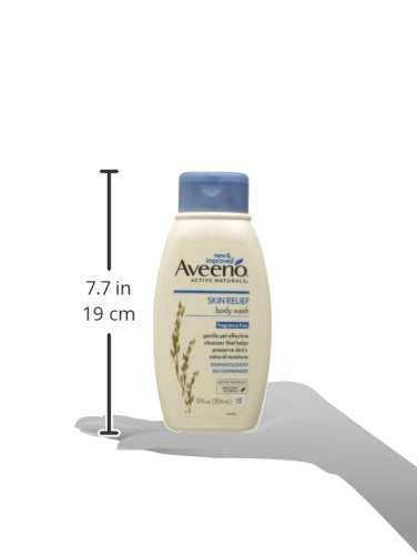 Aveeno Skin Relief Body Wash, 12 Oz