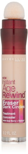 Maybelline New York Instant Age Rewind Eraser Dark Circles Treatment Concealer, Fair, 0.2 Fl. Oz.