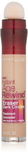 Maybelline New York Instant Age Rewind Eraser Dark Circles Treatment Concealer, Medium, 0.2 Fl. Oz.
