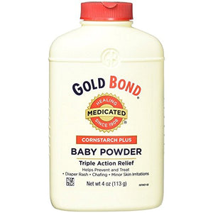 Gold Bond Cornstarch Plus Baby Powder 4 Oz