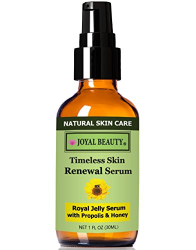 #1 Best Royal Jelly Serum For Face By Joyal Beauty- Timeless Skin Renewal Serum. Enriched With Organic Bee Propolis,Royal Jelly,Honey. The World'S Best Collagen Booster To Enhance Your Natural Beauty!