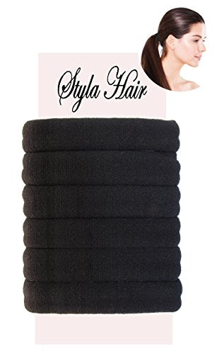 Premium Hair Ties For Thick Hair Heavy Or Curly Hair No Damage Scrunchie 705dd923164