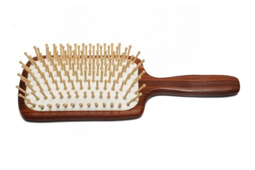 Carpenter Tan Rosewood Hair Brush Gift Set 1-1