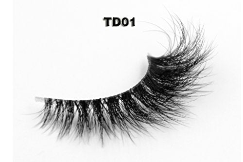 3489fa83656 Invisible Transparent Band 3D Mink Fur Fake Eyelashes Women'S Makeup False  Lashes Hand-Made Mink