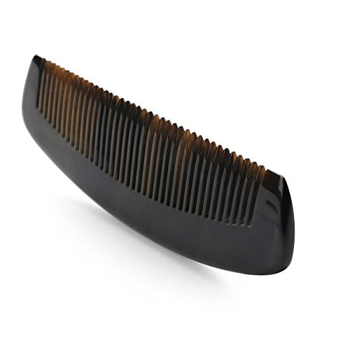 Exquisite Natural Ox Horn Hair Comb 100% Handmade Premium Quality Anti-Static Comb Without Handle
