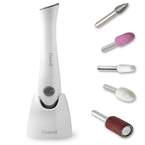 Fancii Professional Electric Manicure & Pedicure Nail File Set With ...