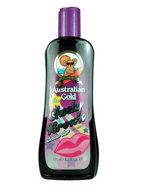 Australian Gold, Cheeky Brown Accelerator Dark Natural Bronzers, Tanning Bed Lotion 8.5 Oz
