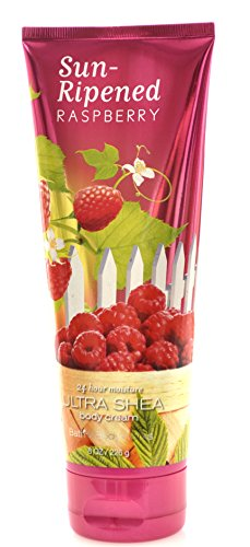 Bath & Body Works 1 Sun Ripened Raspberry Ultra Shea Body Cream, 226G