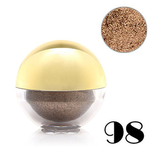 Luxury Shimmer Pearl Loose Eyeshadow Powder Eye Shadow Ball Pigment Make-Up Tool Pearl Brown Color #98