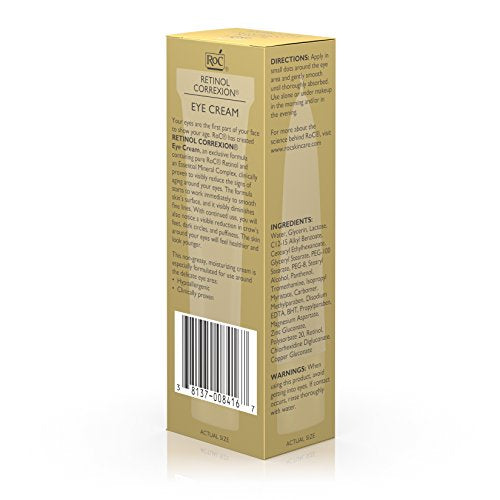 Roc Retinol Correxion Eye Cream Treatment, .5 Oz.