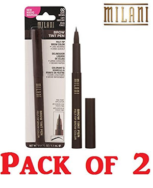 Milani Brow Tint Pen, 02 Dark Brown