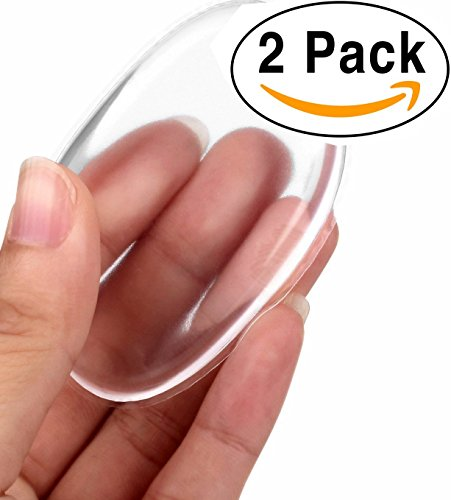 Silicone Makeup Sponge [Washable] Premium Quality - Gel Foundation Makeup And Puff Bb - Best Silisponge Cosmetic Beauty Tools Blender [Clear]