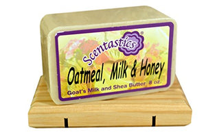 Scentastics Goat'S Milk & Shea Butter Oatmeal, Milk & Honey Soap (8 Oz. Bar)