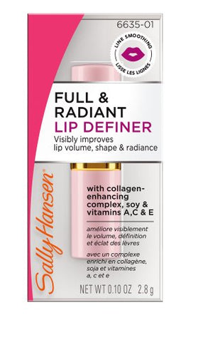 Sally Hansen Clinical Lipcare Collection Full And Radiant Lip Definer, 0.1 Ounce