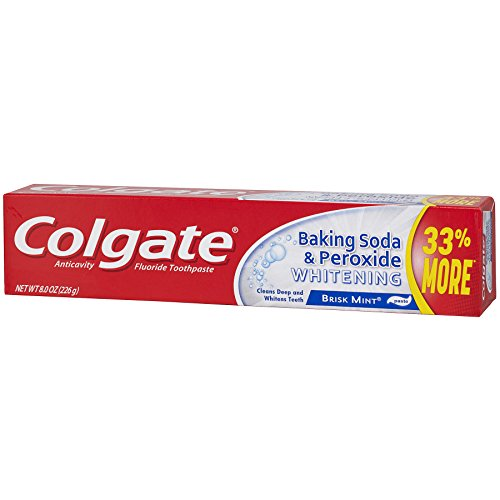 Colgate Baking Soda And Peroxide Whitening Toothpaste - 8 Ounce