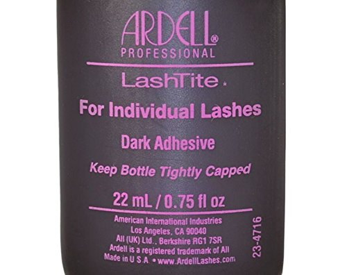 83d54e36303 Ardell Lashtite Eyelash Adhesive Glue-Dark For Individual Lashes Usa - Size  0.75 Fl Oz