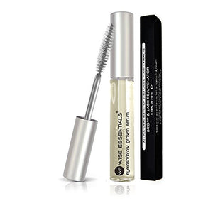 Eyebrow Growth Serum And Eyelashes - Longer, Lush, Healthier Eyelashes & Brows - Rejuvenates Hair In 45 Days- Non Toxic All Natural - Wise Essentials