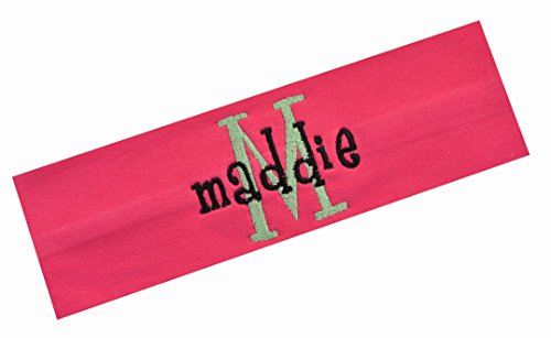 Personalized Embroidered Monogrammed Girlz Curlz Cotton Stretch Headband By  Funny Girl Designs ( 7 Hot 3fa4f719a4d