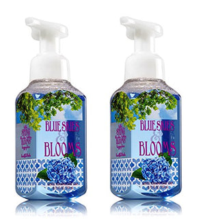 Bath & Body Works Blue Skies & Blooms Foaming Hand Soap 8.75 Oz, 259 Ml (Set Of 2)