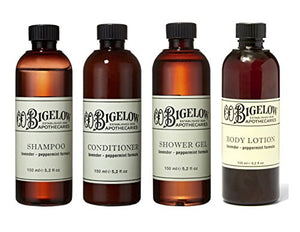 C.O. Bigelow Lavender & Peppermint Set Shampoo, Conditioner, Shower, Lotion