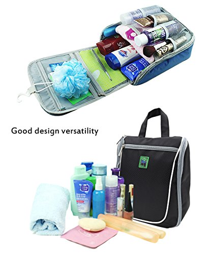 Goldwheat Waterproof Travel Toiletry Bag For Women  Men Cosmetic Travel  Organizer Hanging Toiletry Kit, fe39d8c1c1
