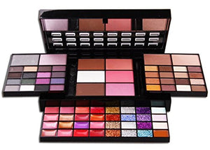 Fantasyday 36 Colors Eyeshadow All In One Makeup Palette Cosmetic Contouring Kit Combination With 28 Lip Gloss, 3 Face Powder, 3 Blusher And 4 Cream Concealer