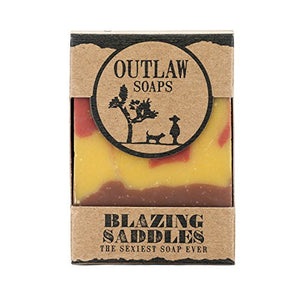 Blazing Saddles (The Sexiest Soap Ever) -  Handmade Soap For Men And Women. Smells Like Leather, Gunpowder, Sandalwood, And Sagebrush