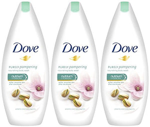Dove Purely Pampering Body Wash, Pistachio Cream With Magnolia, 16.9 Ounce / 500 Ml