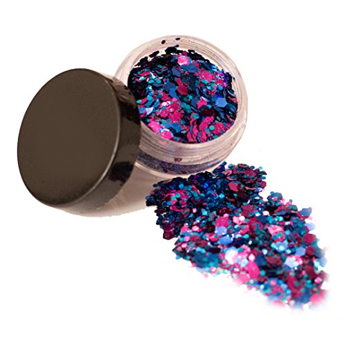 Mermaid Chunky Glitter  Cosmetic Glitter  Festival Face Body Hair Nails