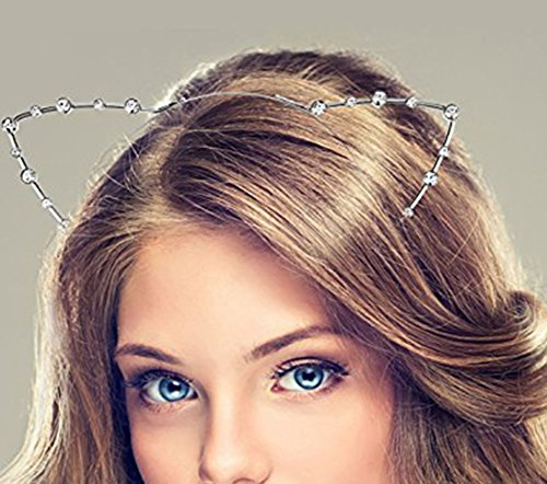 Sc0Nni 2Pcs Cat Ear Headband2 Piecesgold And Silverchild Adult Hair Bandscat Ears Hair Bandscat Ear Pearl Tiarachild Adult Headbandcat Ear Tiara.