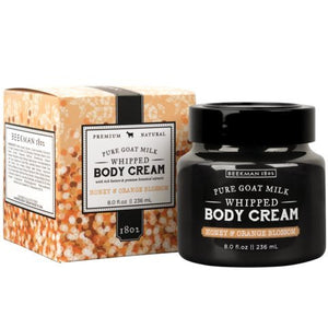 Beekman Honey & Orange Blossom Whipped Body Cream 8 Oz.